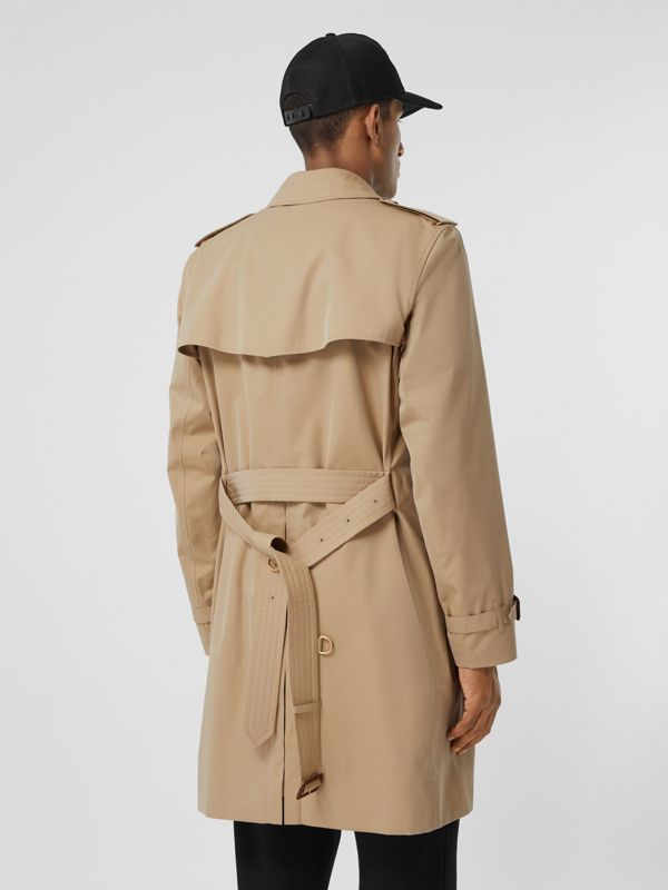 The Mid-length Kensington Heritage Trench Coat in Honey - Men   Burberry - cell image 2