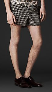 Geometric Print Swim Shorts