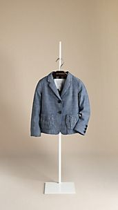 Cotton Chambray Jacket