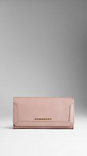 Cartera continental en charol London