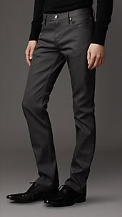 Steadman Grey Wash Slim Fit Jeans