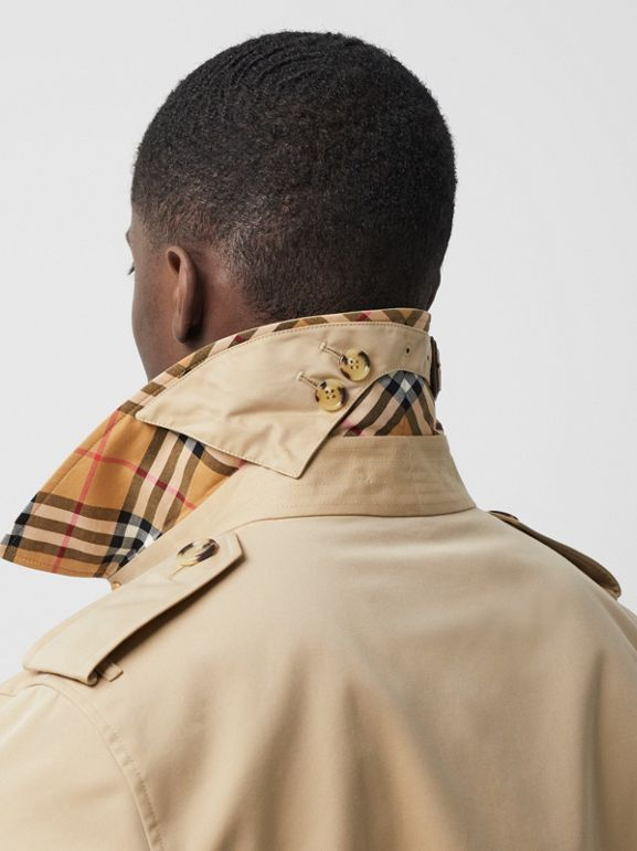 The Long Kensington Heritage Trench Coat in Honey - Men | Burberry - cell image 1
