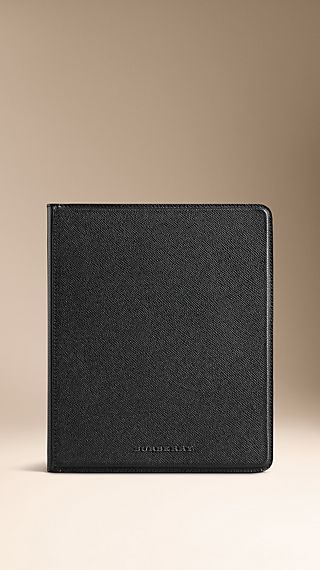 London Leather iPad Case