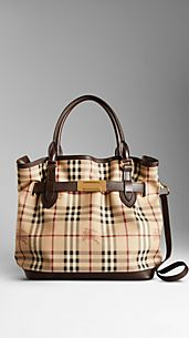 Sac tote medium en Haymarket Check