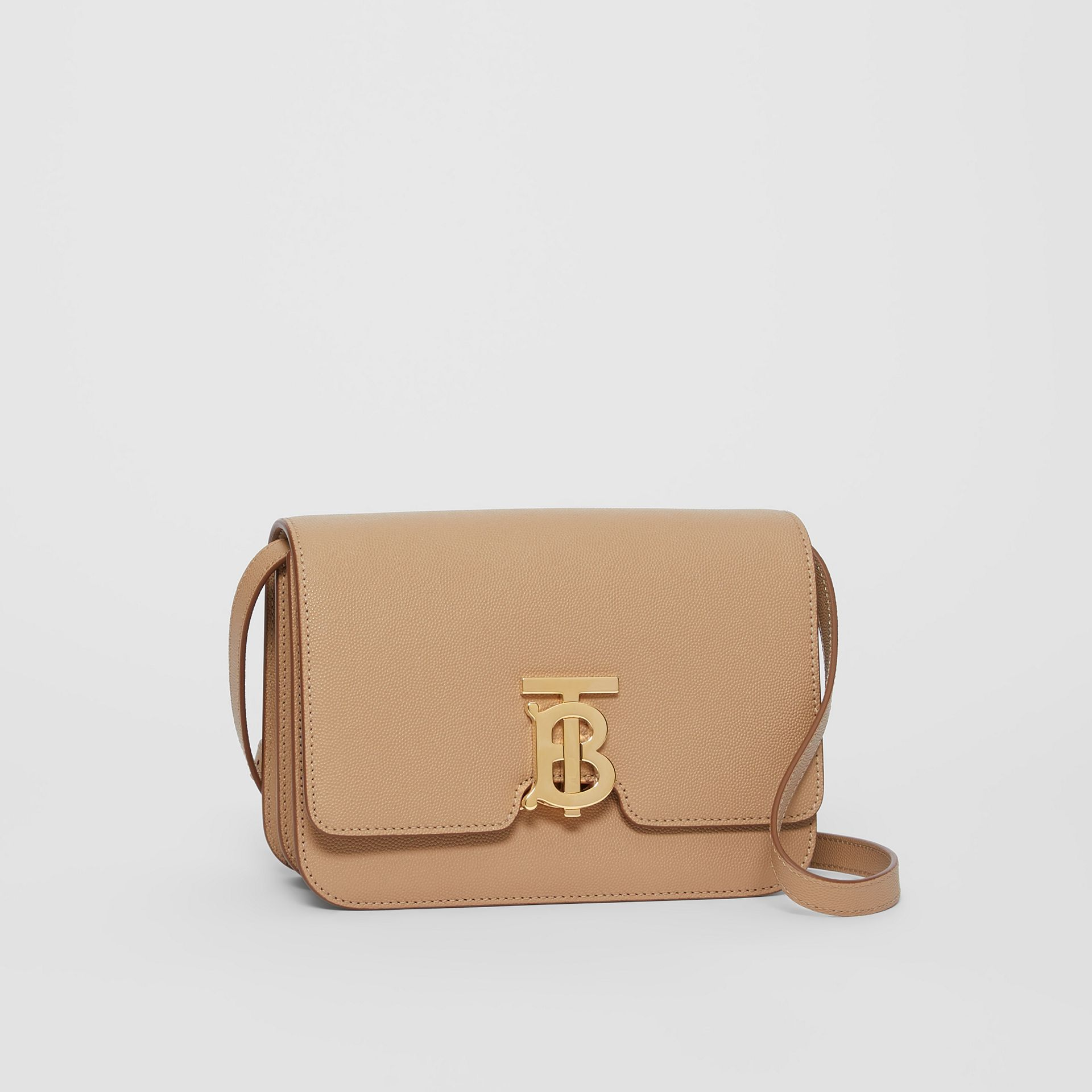 Small Grainy Leather TB Bag in Archive Beige | Burberry United States - gallery image 6