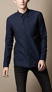 Overdyed Denim Workshirt