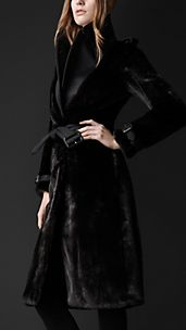 Mink Trench Coat