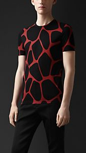 Abstract Animal Print T-shirt