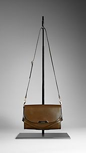 Small Bridle Leather Crossbody Bag