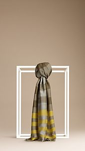 Painted Stripe Scarf