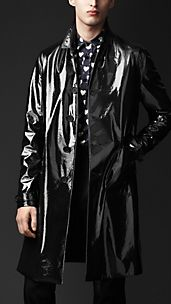 Tailored Technical Raincoat