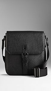 Heritage Grain Leather Crossbody Bag
