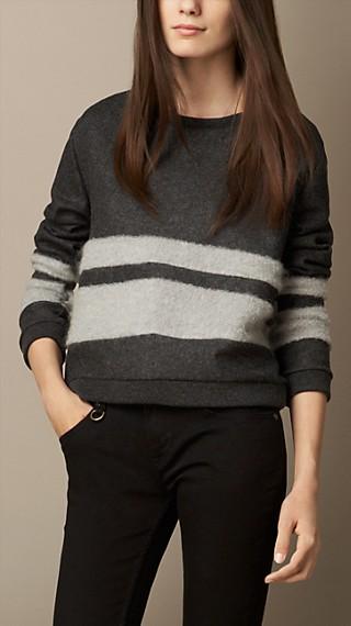 Collegiate Wool Blend Sweater