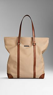 Cotton Gabardine Tote Bag