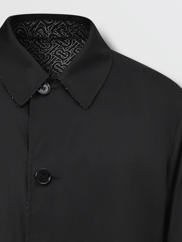 Reversible Logo Embroidered ECONYL® Car Coat | Burberry United Kingdom - cell image 3