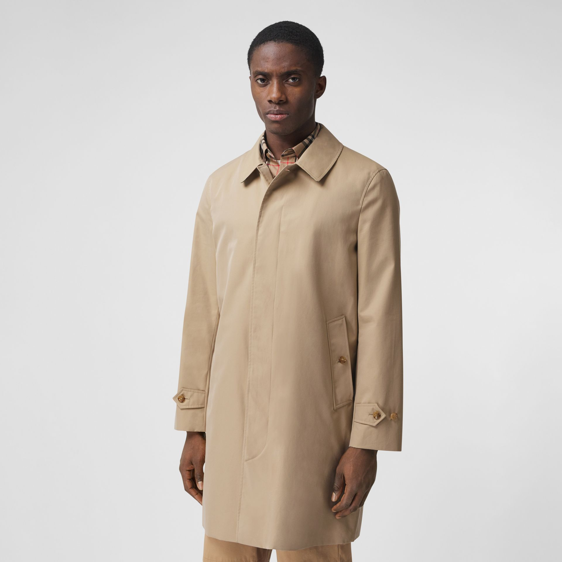 Paletot Heritage The Pimlico (Miel) - Homme | Burberry Canada - photo de la galerie 7