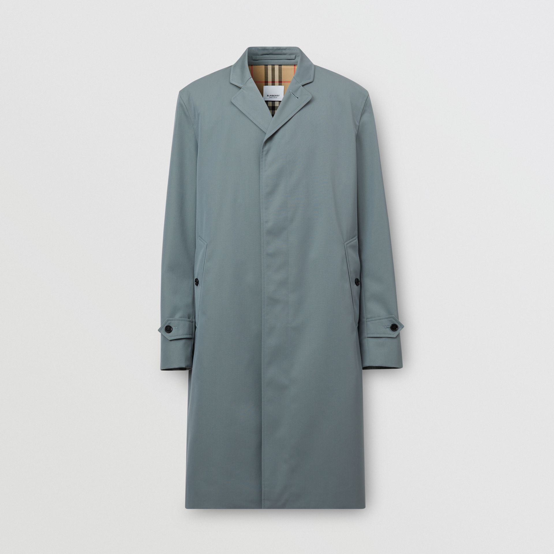 Cotton Gabardine Car Coat - Men | Burberry United Kingdom - gallery image 3