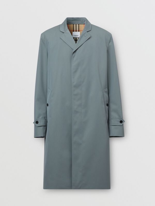 Cotton Gabardine Car Coat - Men | Burberry United Kingdom - cell image 3