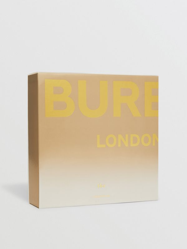 Her London Dream Eau de Parfum Gift Set in Honey - Women | Burberry - cell image 2