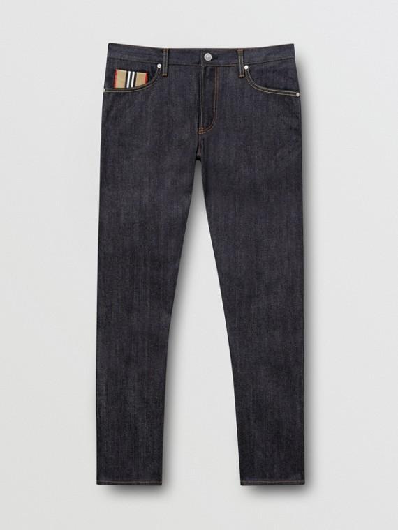 Straight Fit Raw Japanese Selvedge Denim Jeans