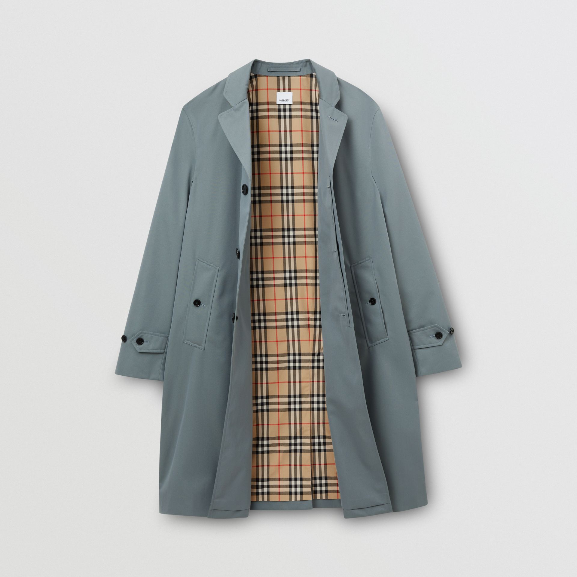 Cotton Gabardine Car Coat - Men | Burberry United Kingdom - gallery image 6