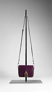 Lock Detail Crossbody Bag