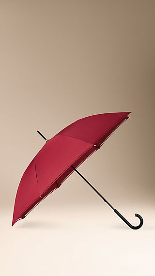 Brogue Detail Walking Umbrella