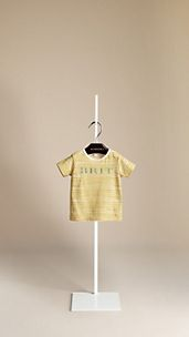 Striped Cotton Jersey T-Shirt