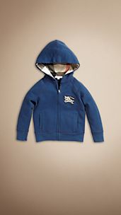 Heritage Cotton Blend Hooded Top