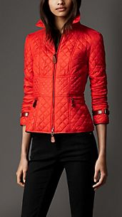 Corset Detail Quilted Jacket