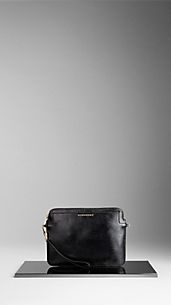 London Leather Crossbody iPad Case