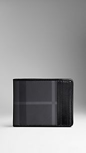 Cartera de checks Charcoal