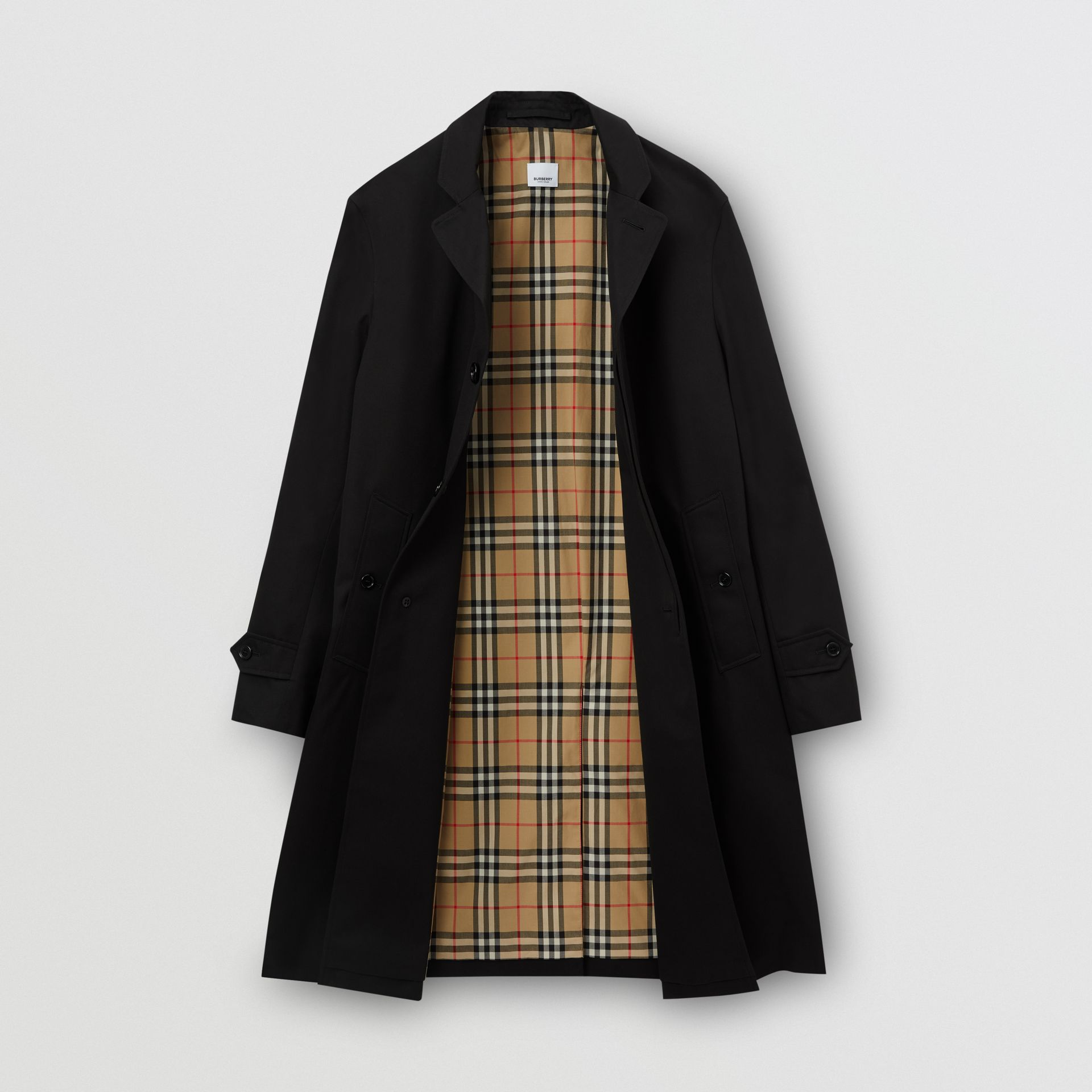 Cotton Gabardine Car Coat - Men | Burberry United States - gallery image 6