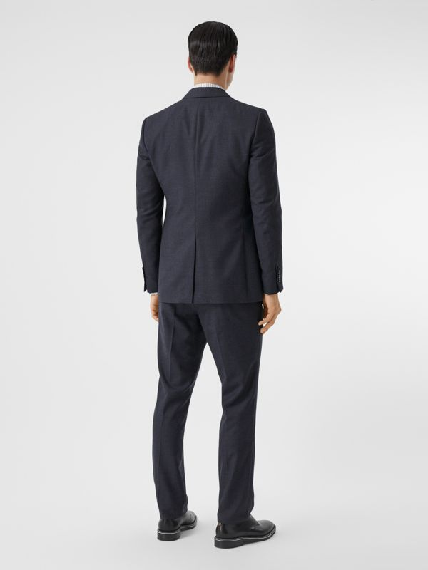 Classic Fit Wool Three-piece Suit in Navy - Men | Burberry - cell image 2