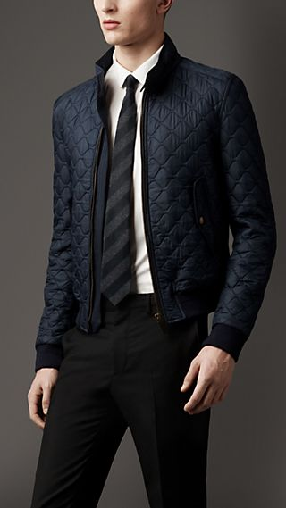Military Quilted Blouson