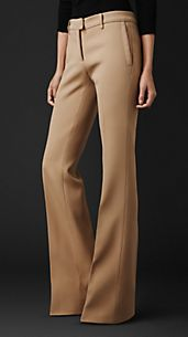 Tailored Flared Trousers