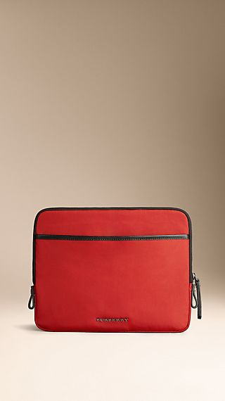 Nylon and London Leather iPad Digital Case