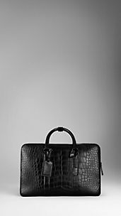 Large Alligator Holdall