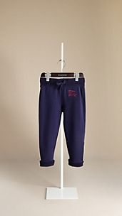 Cotton Jersey Jogging Trousers
