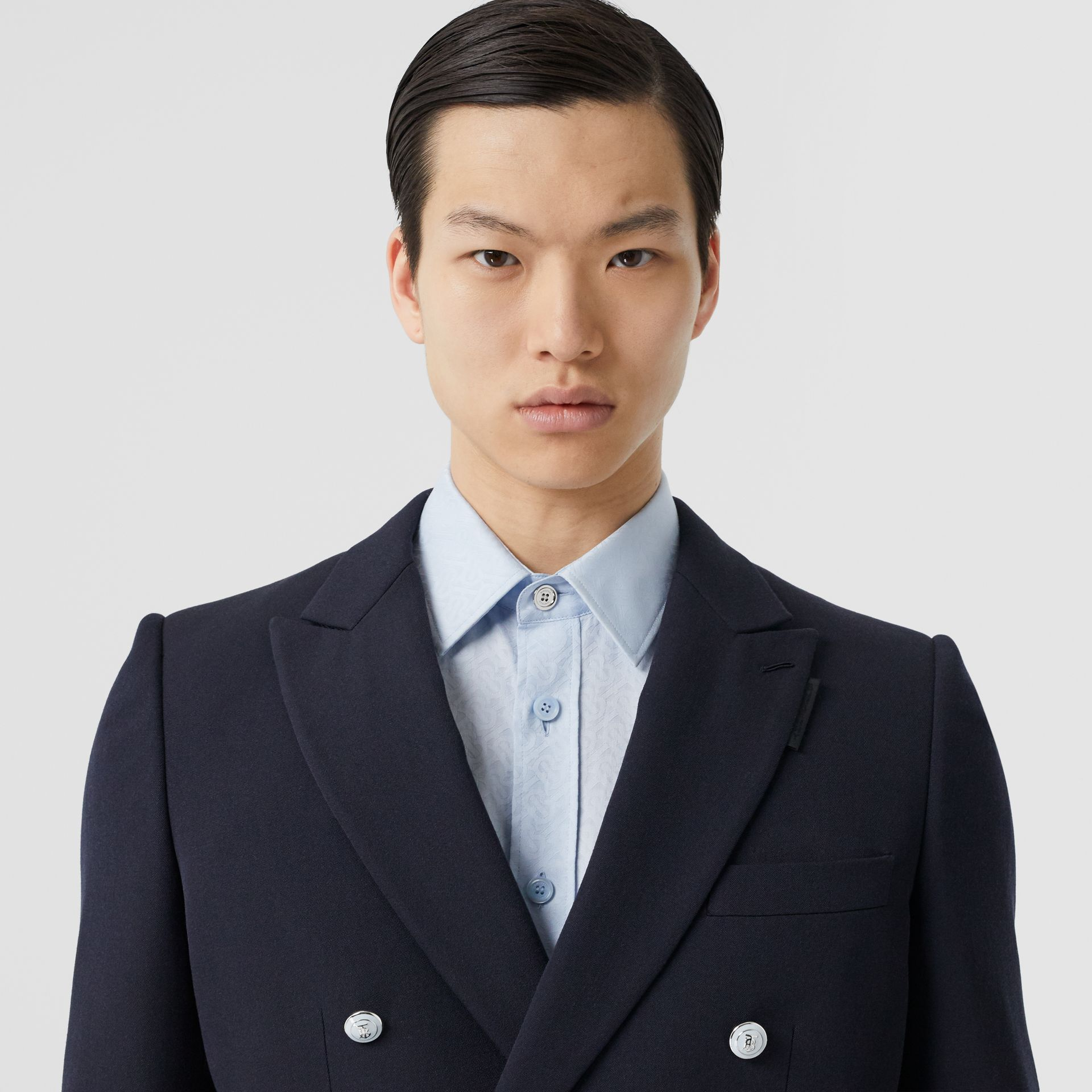 English Fit Wool Double-breasted Jacket - Men | Burberry - gallery image 1
