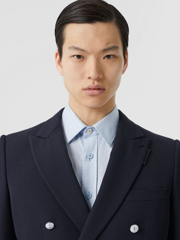 English Fit Wool Double-breasted Jacket - Men | Burberry - cell image 1