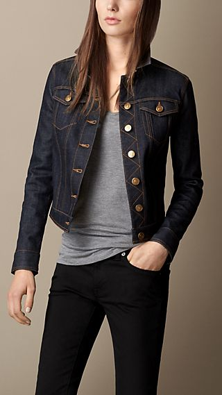 Japanese Stretch Selvedge Denim Jacket