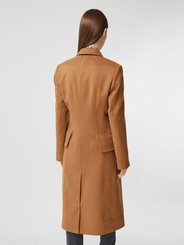 Cashmere Tailored Coat in Bronze - Women | Burberry - cell image 2