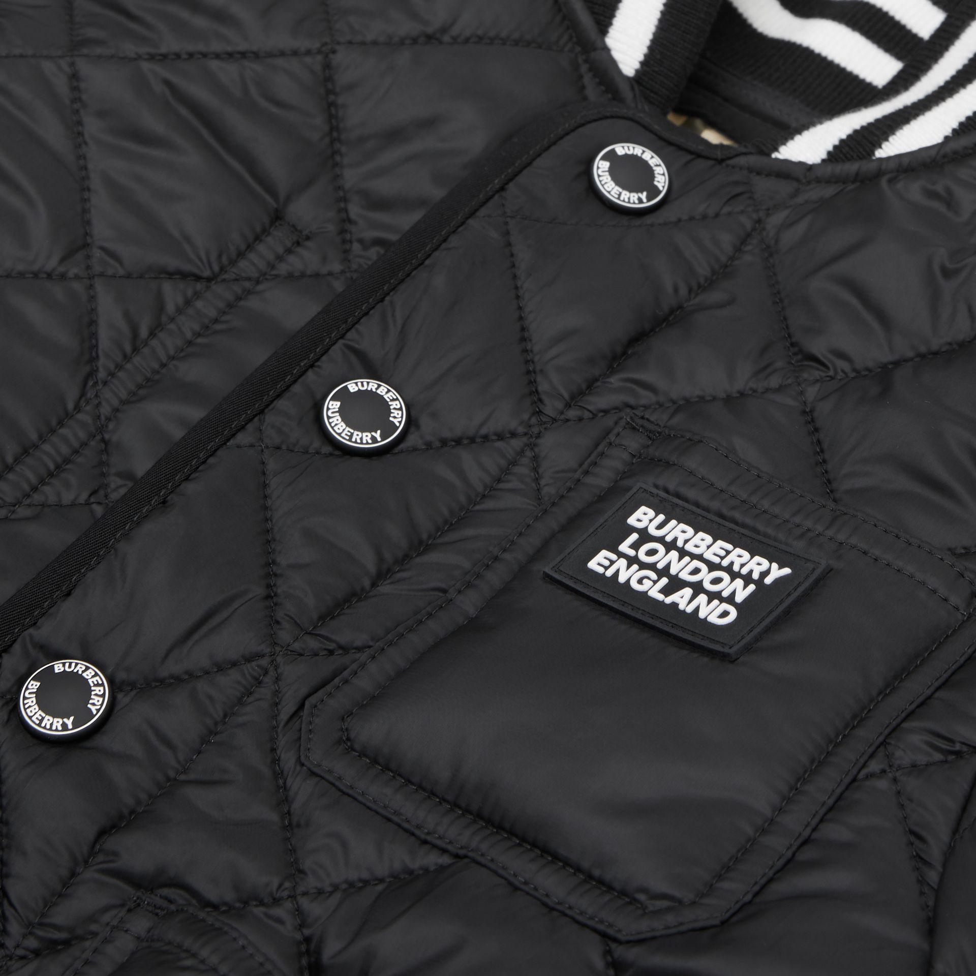Recycled Polyester Diamond Quilted Jacket | Burberry United Kingdom - gallery image 1