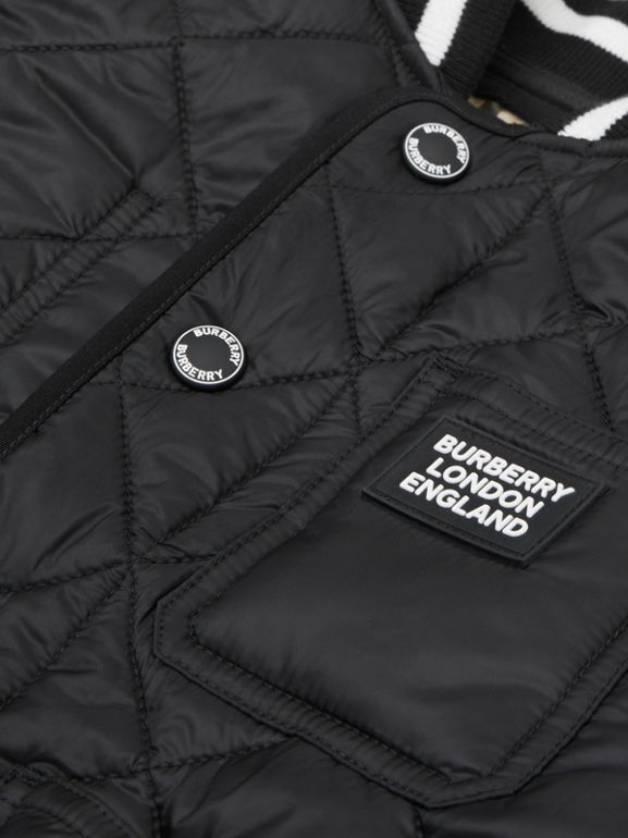 Recycled Polyester Diamond Quilted Jacket | Burberry United Kingdom - cell image 1