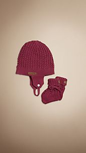 Hat and Booties Set