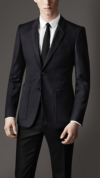 Modern Fit Patch Pocket Blazer