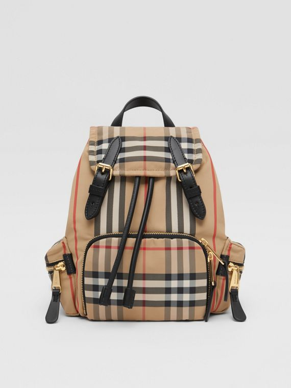 The Small Rucksack in Icon Stripe ECONYL®