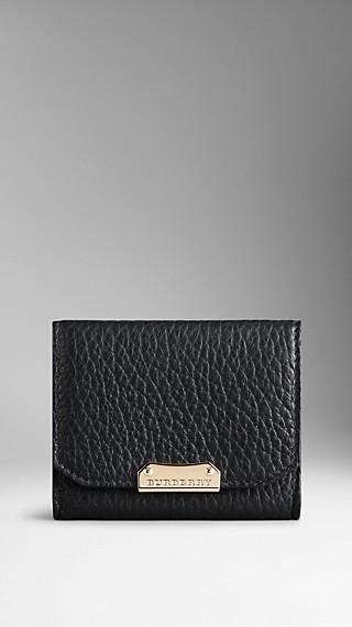 Signature Grain Leather Card Case