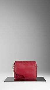 Crossbody London Leather iPad Case